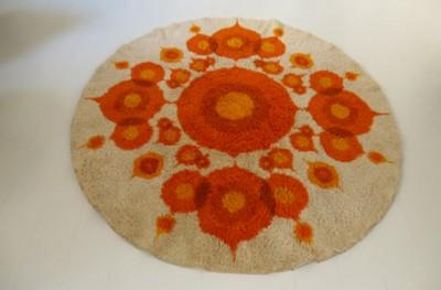 Large vintage carpet  1970s