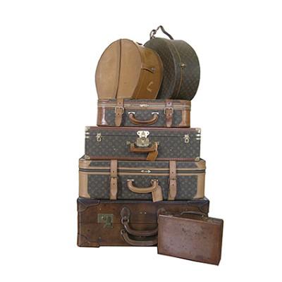 Vintage luggages