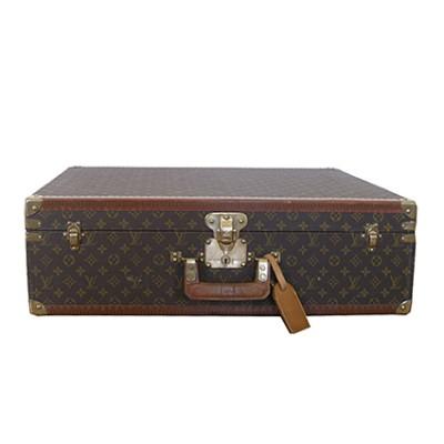 Vintage Louis Vuitton hard suitcase