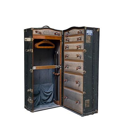 Vintage wardrobe trunk early '900