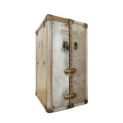 Vellum  wardrobe trunk 1930s