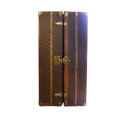 Baule guardaroba Louis Vuitton vintage