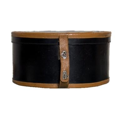 Vintage round hat box