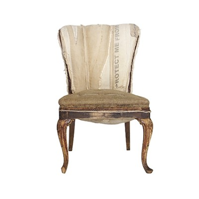 Shabby Chic baroque chair