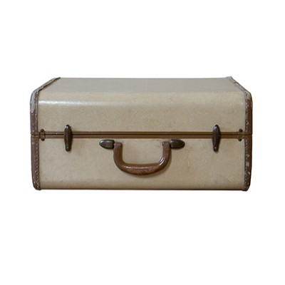 Vintage Samsonite vellum suitcase